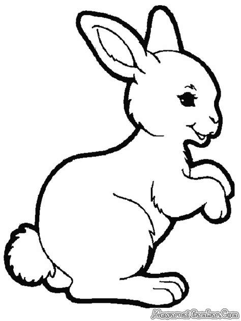 mewarnai 20 gambar kelinci mewarnai gambar jongose