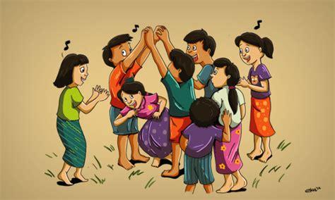 Bakiak Anak Isi 4 42 permainan tradisional sunda jawa barat terlengkap