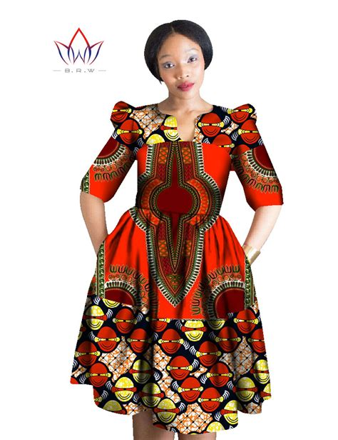 african print dresses for women spring style women patchwork midi dress african print