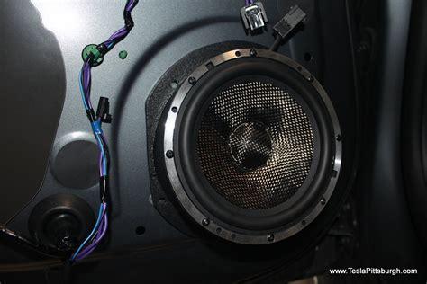 Tesla Audio Tesla Model S Standard Audio Speaker Upgrade By Light Harmonic