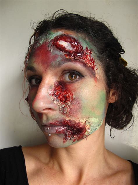 zombie painting tutorial zombie face paint tutorial coochiecrunch