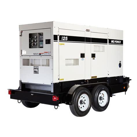 Genset Multi Equipment 20kw to 100kw rental generators ma ri ct nh vt ny ga la and tx