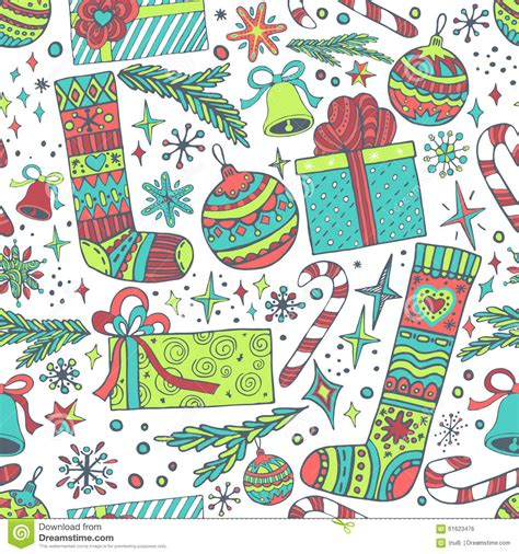 new year patterns vector new year seamless pattern stock vector image