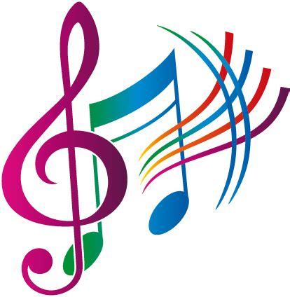 imagenes siluetas musicales autocollant notes musique couleur 50 822 png musique