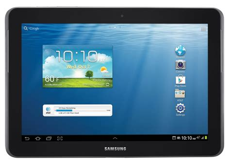 Samsung Tab 2 Detail samsung galaxy tab 2 10 1 at t specs and price details gadgetian