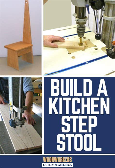 diy wooden step stool   kitchen woodworking