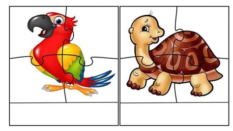 printable animal puzzles for toddlers free jigsaw puzzles for kids 171 preschool and homeschool
