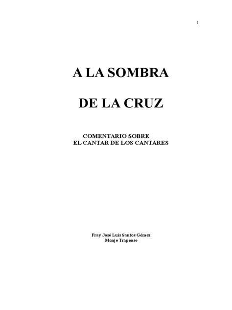 A La Sombra de La Cruz | Amor | Cristo (Título)