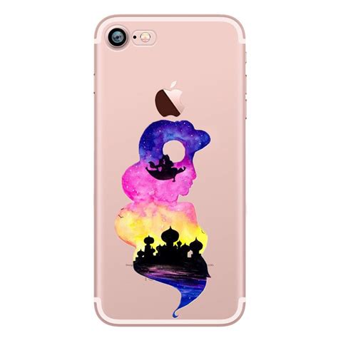 Tpu Jelly Disney watercolour disney princess tpu gel back for iphone x 8 8 7 7 6s ebay