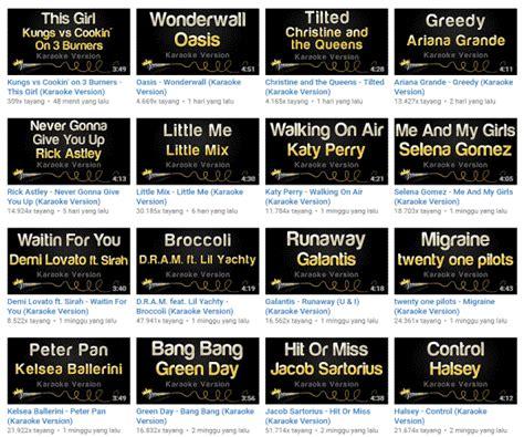 download mp3 instrumental barat tempat download lagu karaoke terbaik beserta lirik portabs