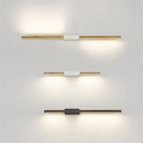 Horizontal Wall Sconce Stickbulb By Rux Horizontal Sconce Hardwired