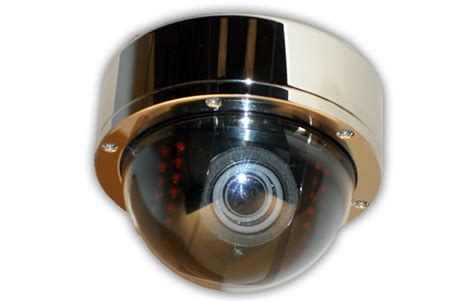 rugged cams stainless steel dome ir infrared dome cctv cameras rugged cams