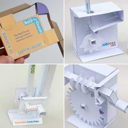 papercraft mechanisms paperkraft net free papercraft