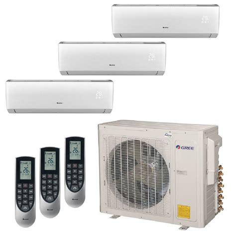 Ac Lg Multi Split gree multi 21 zone 36 000 btu 3 0 ton ductless mini split