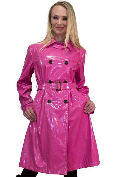 pvc vinyl trench coats 535 best womens raincoat fashion images on pinterest