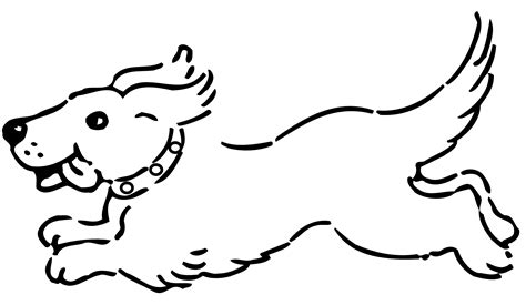 black and white coloring pages of dogs clip art black and white dogs 3 clipart clipart suggest