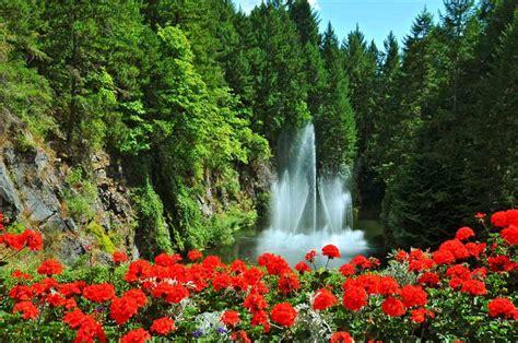 most beautiful gardens butchart gardens in canada quiet corner