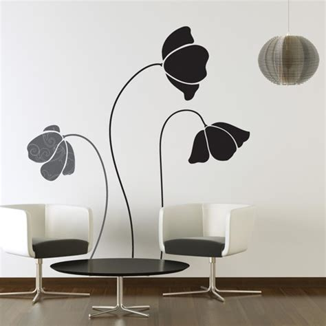 decal wall stickers large flowers wall decal wall stickers studio luka