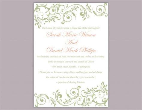 elegant free templates for invitations elegant wedding invitation templates free download