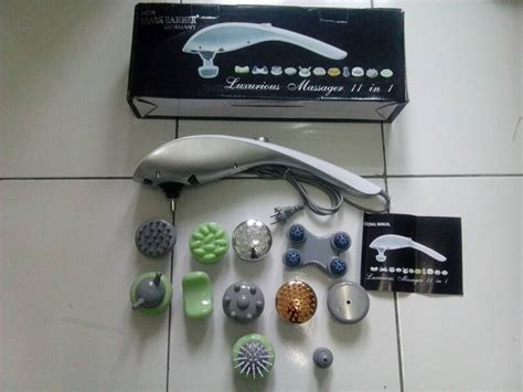 Alat Pijat 11 In 1 jual luxurious massager 11 in 1 magic massager 11 in 1