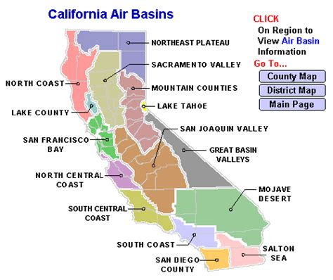 california map divided by counties california s air basins 171 zero resource