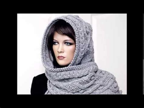 knitting patterns scarf youtube marit hooded scarf knit scarf pattern presentation youtube