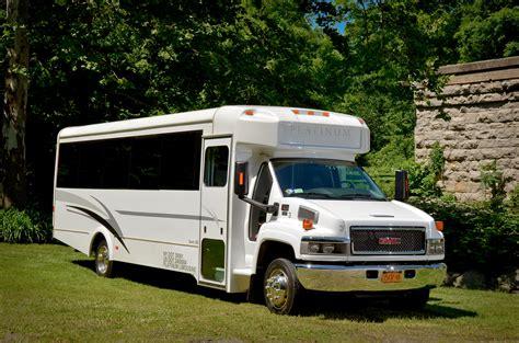 Limo Coach by 22 Passenger Limo Coach Platinum Limousine