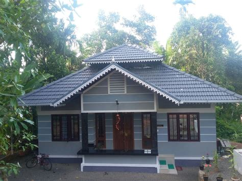 Kerala Home Design 700 Sq Ft by 700 Square Feet 3bhk Kerala Home For 9 Lacks Home Pictures