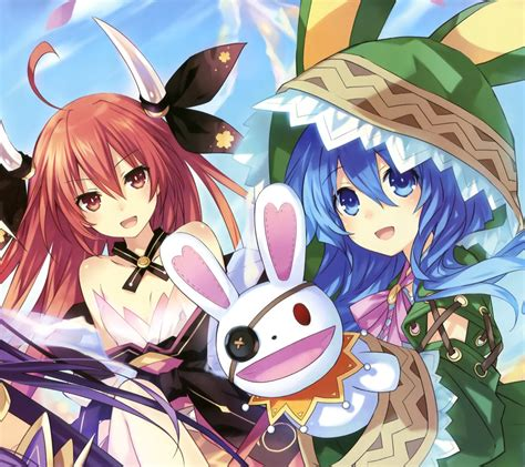 wallpaper android date a live date a live kotori itsuka yoshino android wallpaper 1440x1280