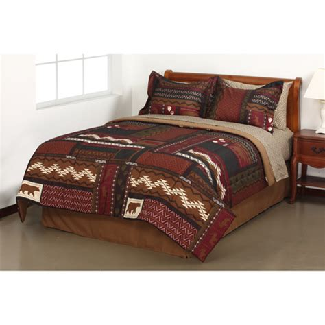 Cabin Bed In A Bag get the mainstays tahoe cabin bed in a bag bedding set at