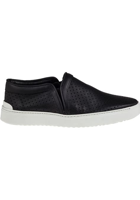 rag and bone slip on sneakers rag bone kent slip on leather sneakers in black lyst