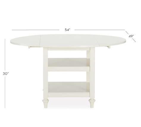 drop leaf kitchen table white shayne drop leaf kitchen table white pottery barn