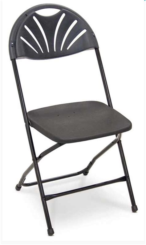 fan back chair fan back folding chair black specialist furniture contracts
