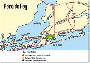 where is perdido key florida on the map map of perdido key