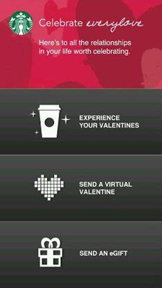 Send Starbucks Gift Card Via Text Message - starbucks cup magic ar app updated for valentine s day