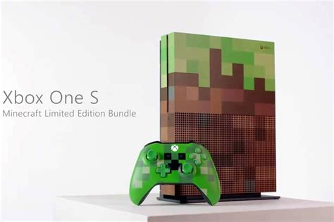 minecraft console xbox one s minecraft edition is headed your way and it s a