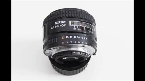 Nikon Af 28mm F 2 8d Nikkor Lens A nikon af nikkor 28mm f 2 8 d wide angle prime lens with