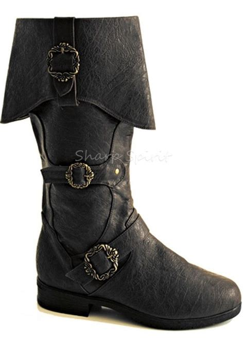 mens pirate boots pirate steunk jedi wars