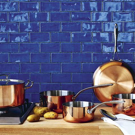 Glass Tile Backsplash Ideas For Kitchens the 25 best blue kitchen tiles ideas on pinterest luna