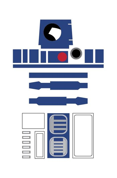 printable r2d2 mask r2d2 printable template google search star wars