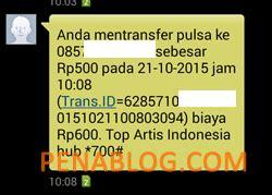 Indosat 10 000 Pulsa Transfer mau transfer pulsa indosat im3 mentari begini caranya