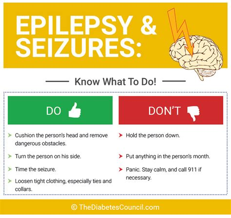 seizures what to do what are the complications