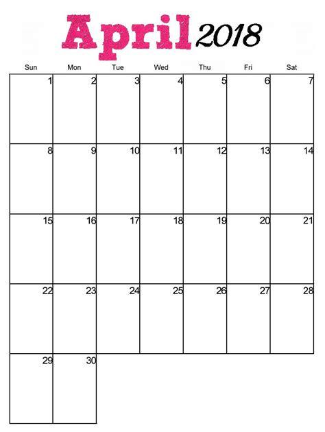 printable april vertical calendar maxcalendars