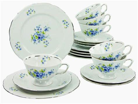 porzellan geschirr modern porzellan serie quot theresia viola blau verschiedene
