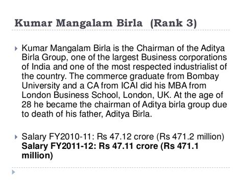 Franchise Manager Salary Mba by Top Paid Indian Ceo