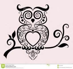 Decorative Owls Decorative Owl Royalty Free Stock Image Image 24644086
