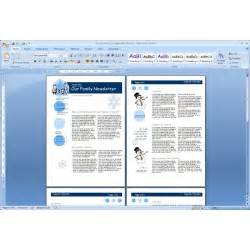the top free microsoft word templates newsletters