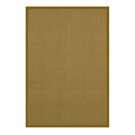 lanart sisal gold 4 ft x 6 ft area rug sisal4x6gd the