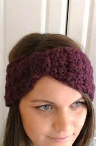 Hat crochet pattern pdf headband turban headwrap by toocutecrochet
