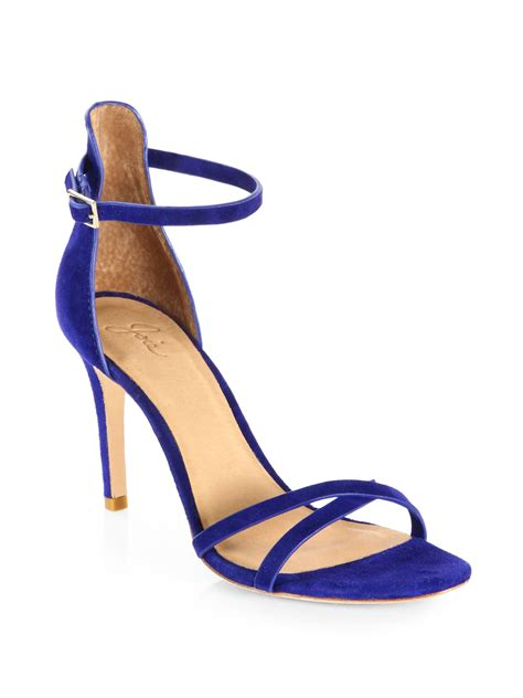 Jadde Sandals Aldo lyst joie jade suede sandals in blue